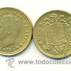 Monedas Juan Carlos I: 3-00175-77+. 1 PESETA 1975 ESTRELLA 1977. MBC. Lote 13642197