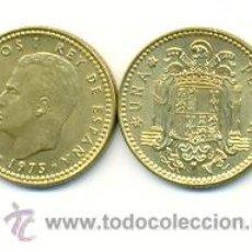 Monedas Juan Carlos I: 3-00175-79+. 1 PESETA 1975 ESTRELLA 1979. MBC. Lote 13642279