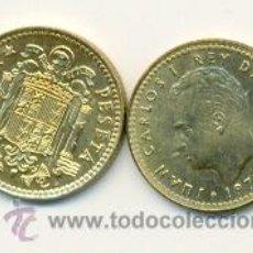 Monedas Juan Carlos I: 3-00175-80+. 1 PESETA 1975 ESTRELLA 1980 MBC. Lote 13642321