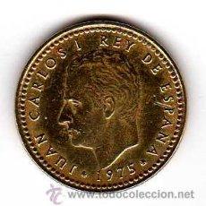 Monnaies Juan Carlos I: 1 PESETA 1975 (78). VARIANTE TILDE DE LA Ñ. MBC-. Lote 14716956