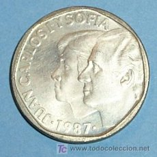 Monedas Juan Carlos I: ESPAÑA 500 PESETAS 1987. Lote 24029037