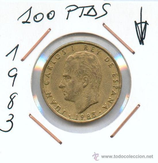 100 PESETAS 1983 DE JUAN CARLOS I. LIS AL REVERSO UNA DE LAS MAS ESCASAS DE SU SERIE (Numismática - España Modernas y Contemporáneas - Juan Carlos I)
