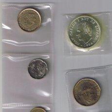 Monedas Juan Carlos I: INCLUIDA LA DE PLATA 1994 DE JUAN CARLOS I, 4 SIN CIRCULAR 5 SC-( 9 ) COMPLETO. Lote 26876116