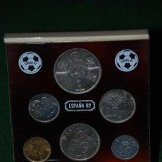 Monedas Juan Carlos I: SET DE MONEDAS DEL MUNDIAL DE FUTBOL ESPAÑA 82. Lote 26831047