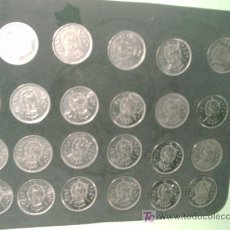 Monedas Juan Carlos I: LOTE 23 MONEDAS 50 PTS 1975. Lote 37026400