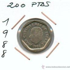 Monedas Juan Carlos I: MONEDA DE 200 PESETAS 1988*VER*AHORRA EN GASTOS AGRUPANDO TODAS TUS COMPRAS EN UN SOLO ENVIO. Lote 27432742