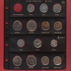 Monedas Juan Carlos I: SERIE 7 MONEDAS 100-50-25-10 -5 Y 1 PESETA AÑO 1983 SIN CIRCULAR CONTENIENDO LAS SIGUIENTES PIEZAS. Lote 17255300