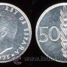 Monedas Juan Carlos I: 50 CENTIMOS 1975 *76 DE BOLSA. Lote 24497490
