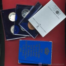 Monedas Juan Carlos I: ESTUCHE 500 MONEDAS PESETAS ,PRUEBAS 1987 , FNMT, BODAS PLATA , CAJA ALGO ROZADA , ANIVERSARIO BODA. Lote 58864066