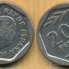 Monedas Juan Carlos I: 200 PESETAS 1986 EBC. Lote 20257478
