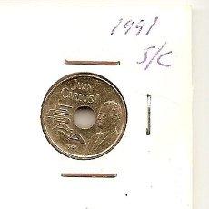 Monedas Juan Carlos I: MONEDA DE JUAN CARLOS I. 25 PTS.1991 MADRID. REY . S/C DE PAQUETE. ESPECIAL COLECCIONISTA. Lote 21104411