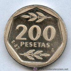Monedas Juan Carlos I: 200 PESETAS E 87 DE LA EXPOSICION AÑO 87. Lote 24375847