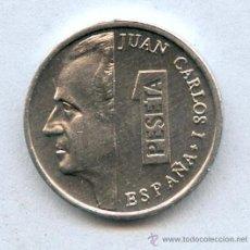 Monedas Juan Carlos I: SIN CIRCULAR 1 PESETA JUAN CARLOS I MODULO PEQUEÑO.... ( LAS LLAMADAS LENTEJAS ).. Lote 23284235