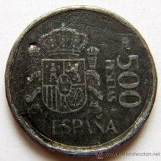 Monedas Juan Carlos I: 500 PESETAS 1989 FALSA DE ÉPOCA. Lote 150043249