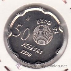 Monedas Juan Carlos I: MONEDA JUAN CARLOS I 1990 50 PTA LOTE DE 10 PIEZAS SIN CIRCULAR . Lote 26451028