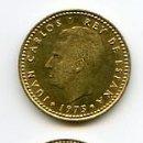 Monedas Juan Carlos I: MONEDA DE 1 PESETA, 1975 *78. VARIANTE CHILENA. Lote 131545131