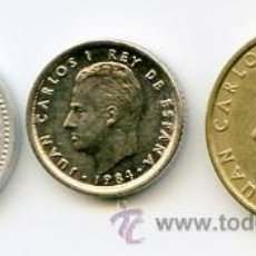 Monedas Juan Carlos I: LOTE DE TRES MONEDAS DE 1984. Lote 26753781