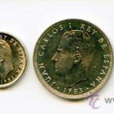 Monedas Juan Carlos I: LOTE DE MONEDAS DE 1983. Lote 26753783