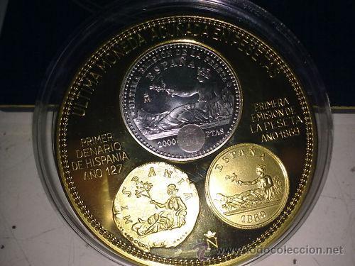 Monedas Juan Carlos I: MONEDA DE PLATA 2000 PESETAS AÑO 2001 TIRADA 500 PIEZAS - Foto 2 - 24849086