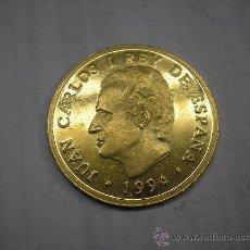 Monedas Juan Carlos I: 80000 PESETAS DE ORO PURO DE 1994.CULTURA Y NATURALEZA.EL LINCE. Lote 26816077