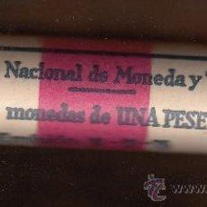 Monedas Juan Carlos I: MONEDA JUAN CARLOS I 1 PTA 1980*82 CARTUCHO FNMT DE 50 PIEZAS SIN CIRCULAR. Lote 235073620