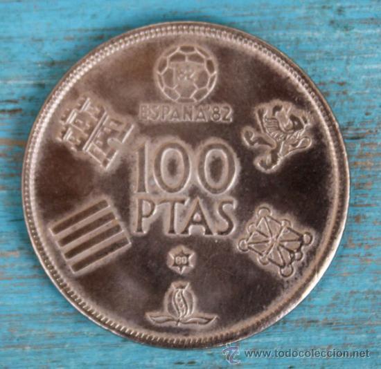ANTIGUA MONEDA DE 100 PESETAS - MUNDIAL ESPAÑA 82 - AÑO 1980 - EN - (Numismática - España Modernas y Contemporáneas - Juan Carlos I)