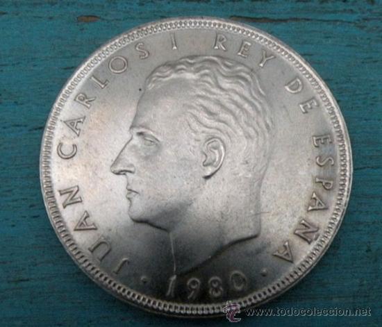 Monedas Juan Carlos I: ANTIGUA MONEDA DE 100 PESETAS - MUNDIAL ESPAÑA 82 - AÑO 1980 - EN - - Foto 2 - 28273852