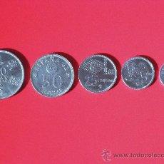 Monedas Juan Carlos I: COLECCIÓN DE 5 MONEDAS DEL MUNDIAL 82 (DE 100, 50, 25 Y 5 PTS; + DE 10 CMS.). Lote 28634672