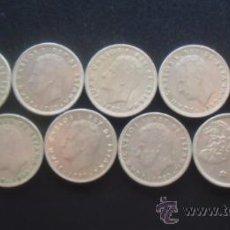 Monedas Juan Carlos I: LOTE 9 MONEDAS. JUAN CARLOS I. 5 PESETAS. AÑO 1980, DISTINTAS. Lote 28973679