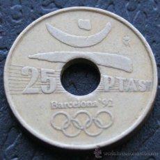 Monedas Juan Carlos I: 25 PESETAS 1990 (OLIMPIADAS). Lote 29359817