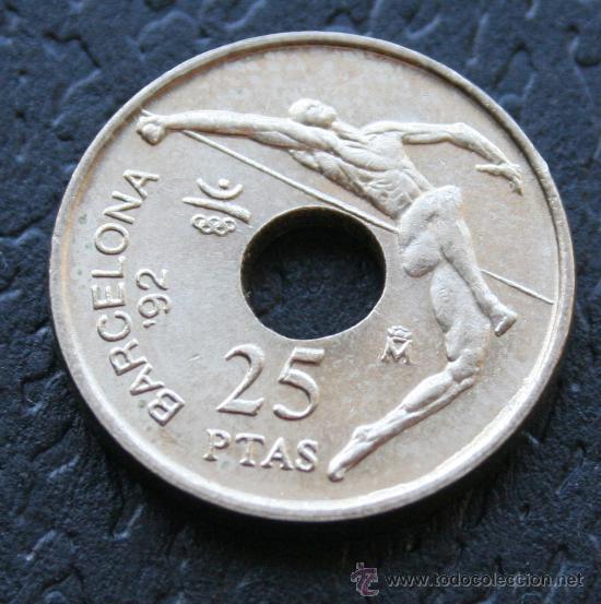 25 PESETAS 1991 (REY) (Numismática - España Modernas y Contemporáneas - Juan Carlos I)