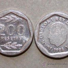Monedas Juan Carlos I: 200 PESETAS 1987. Lote 35203421