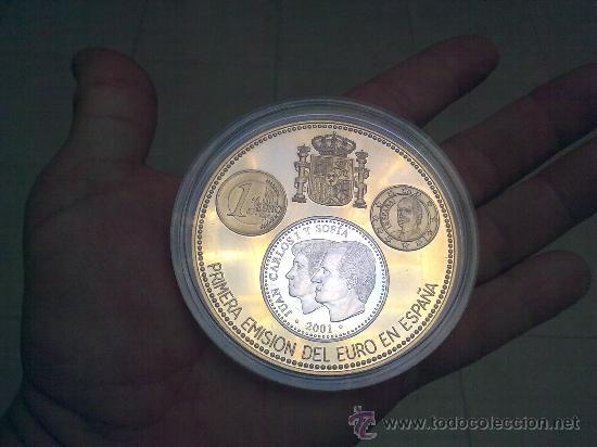 Monedas Juan Carlos I: MONEDA DE PLATA 2000 PESETAS AÑO 2001 TIRADA 500 PIEZAS - Foto 3 - 24849086