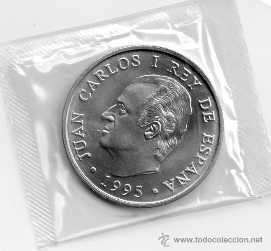 Monedas Juan Carlos I: MONEDA 2000 PESETAS PLATA AÑO 1995 BANCO DE ESPAÑA. PRESIDENCIA CONSEJO UE. CON SOBRE ORIGINAL. SC - Foto 2 - 31162870