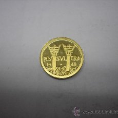 Monedas Juan Carlos I: 10 ECUS DE ORO DE 1989. 5º CENTENARIO .COLUMNAS DE PLUS ULTRA. Lote 31710828