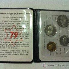Monedas Juan Carlos I: CARTERA PRUEBA NUMISMATICA. AÑO 1979. CUATRO VALORES. Lote 31831406