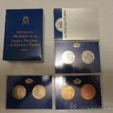 Monedas Juan Carlos I: 500 PESETAS 1989 XXV ANIVERSARIO BODA DE LOS REYES DE ESPAÑA. Lote 31899281