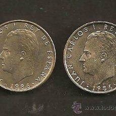 Monedas Juan Carlos I: 100 PESETAS 1986 (PAREJA). Lote 35234656