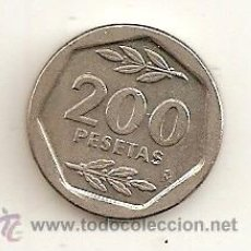 Monedas Juan Carlos I: 200 PESTAS DE 1987. SIN CIRCULAR. Lote 33777551