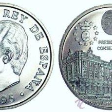 Monedas Juan Carlos I: 2000 PESETAS 1995 - PRESIDENCIA CONSEJO U.E , PLATA, S.C.. Lote 186284455