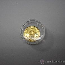 Monedas Juan Carlos I: 5000 PESETAS DE ORO DE 1989. 5º CENTENARIO. ENCAPSULADA. Lote 33226347
