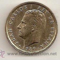 Monedas Juan Carlos I: 100 PESETAS DE 1989 SIN CIRCULAR. BRILLO ORIGINAL. Lote 33756256