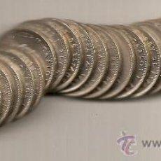 Monedas Juan Carlos I: 27 MONEDAS DE 25 PESETAS ESTRELLA 78. CORONA REAL. SIN CIRCULAR TODAS. Lote 34182139