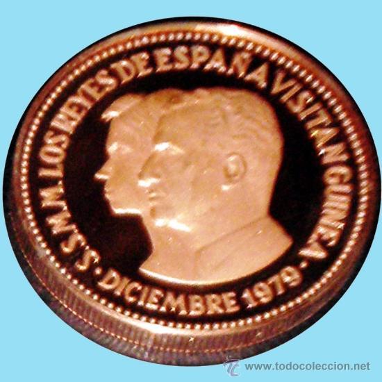 GUINEA ECUAT. 1979*80 PRUEPIEFORT 1000 BIPKUELE BR.PLATEADO 23,5 GR. V.DE LOS REYES ESPAÑA.PROOF. (Numismática - España Modernas y Contemporáneas - Juan Carlos I)