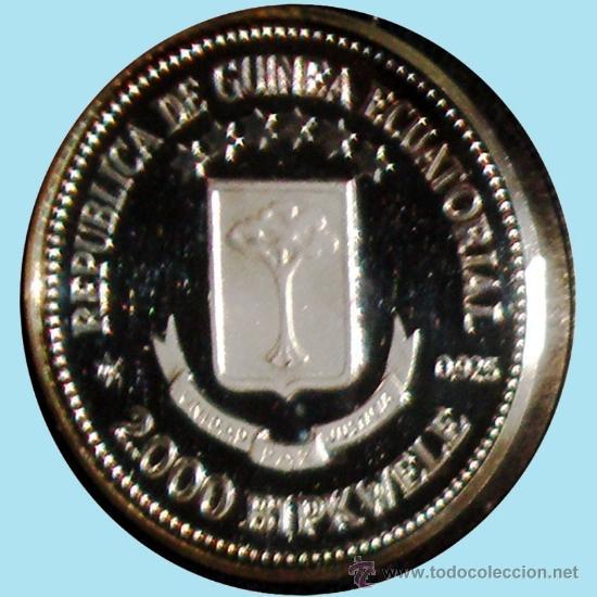 Monedas Juan Carlos I: GUINEA ECUAT. 1979*80 PRUEPIEFORT 1000 Bipkuele Br.PLATEADO 23,5 gr. V.DE LOS REYES ESPAÑA.PROOF. - Foto 4 - 34411734