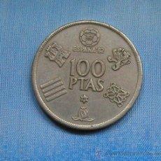 Monedas Juan Carlos I: MONEDA ESPAÑOLA DE 100 PESETAS MUNDIALES DE FÚTBOL 82 JUAN CARLOS I AÑO 80 ESTRELLA 80. Lote 34443454