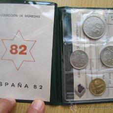 Monedas Juan Carlos I: PRUEBAS NUMISMATICAS FNMT EN CARTERA DE 1982 PARA REGALO. Lote 34668650