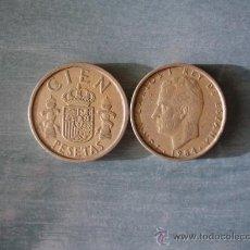 Monedas Juan Carlos I: 100 PESETAS 1984. Lote 35191427