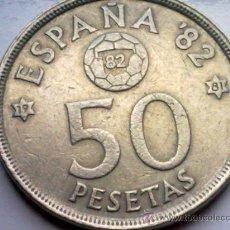 Monedas Juan Carlos I: ESPAÑA 50 PESETAS 1980, MUNDIAL DE FUTBOL ESPAÑA 82. Lote 35317204
