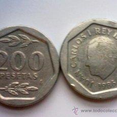 Monedas Juan Carlos I: ESPAÑA 200 PESETAS 1986. Lote 35326204